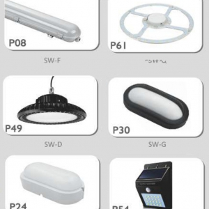 LED lamp and projectors